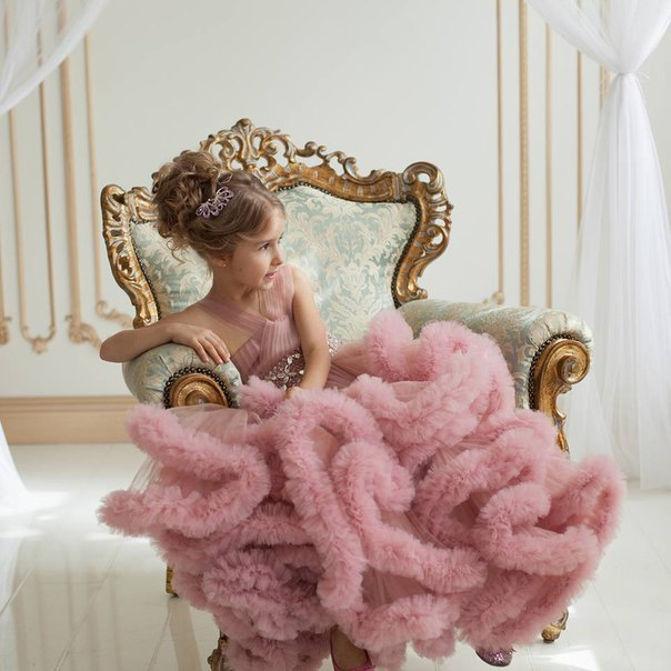 Аренда платьев Diva, платье Children's cloudy lilac dress main