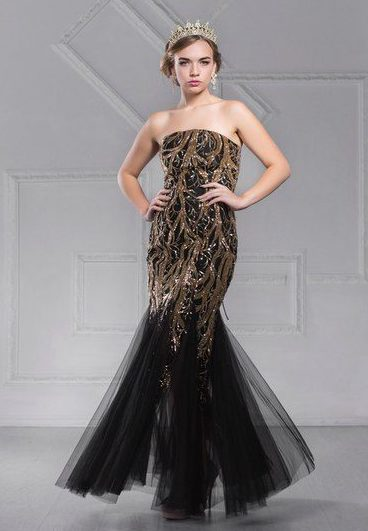 Аренда платьев Diva, платье Elegant evening dress