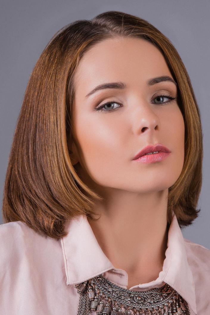 Нюдовый макияж, макияж киев 07
