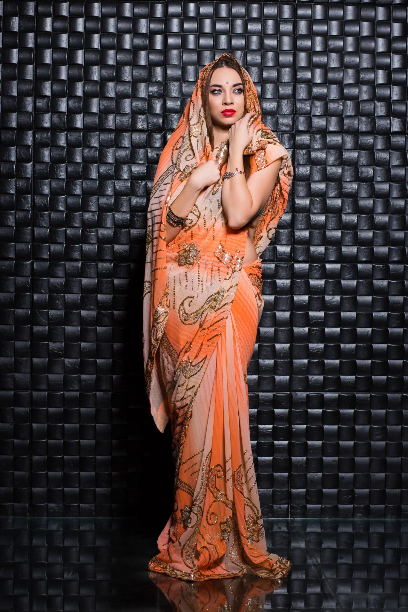 Аренда сари, модель Дарья