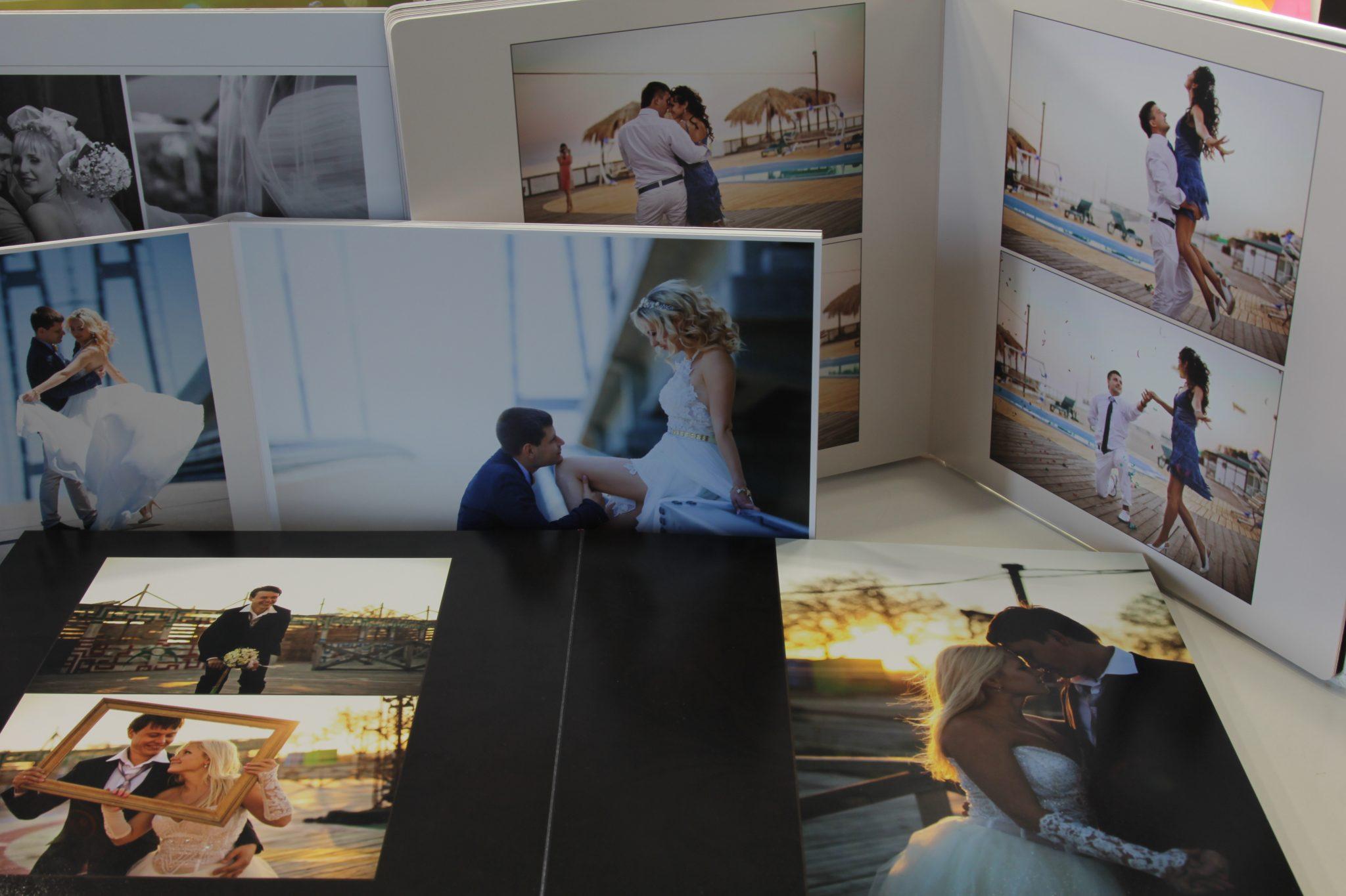 Фотокниги, которые можно заказать в фотостудии Frontpage