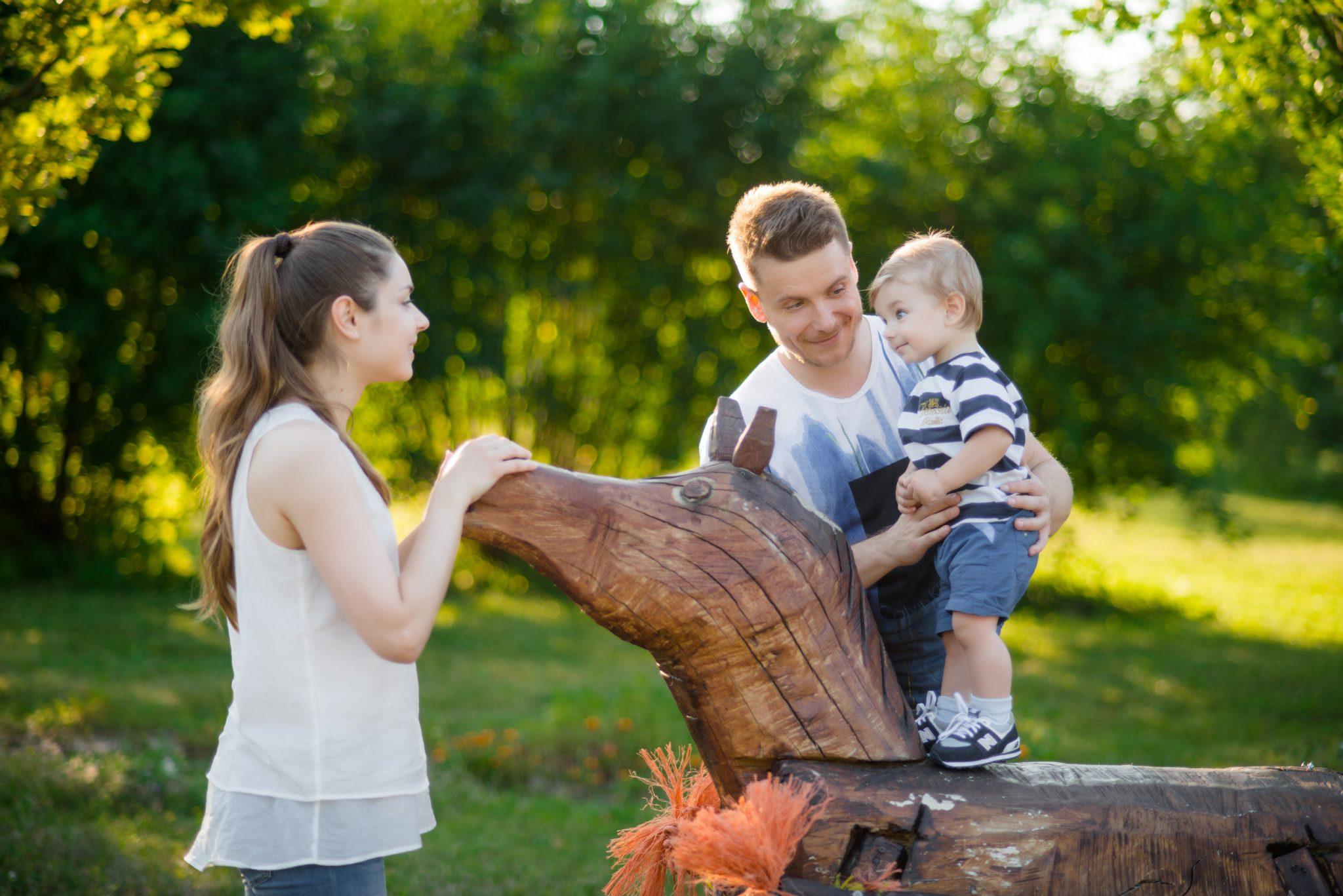 Семейная фотосессия в фотостудии Frontpage