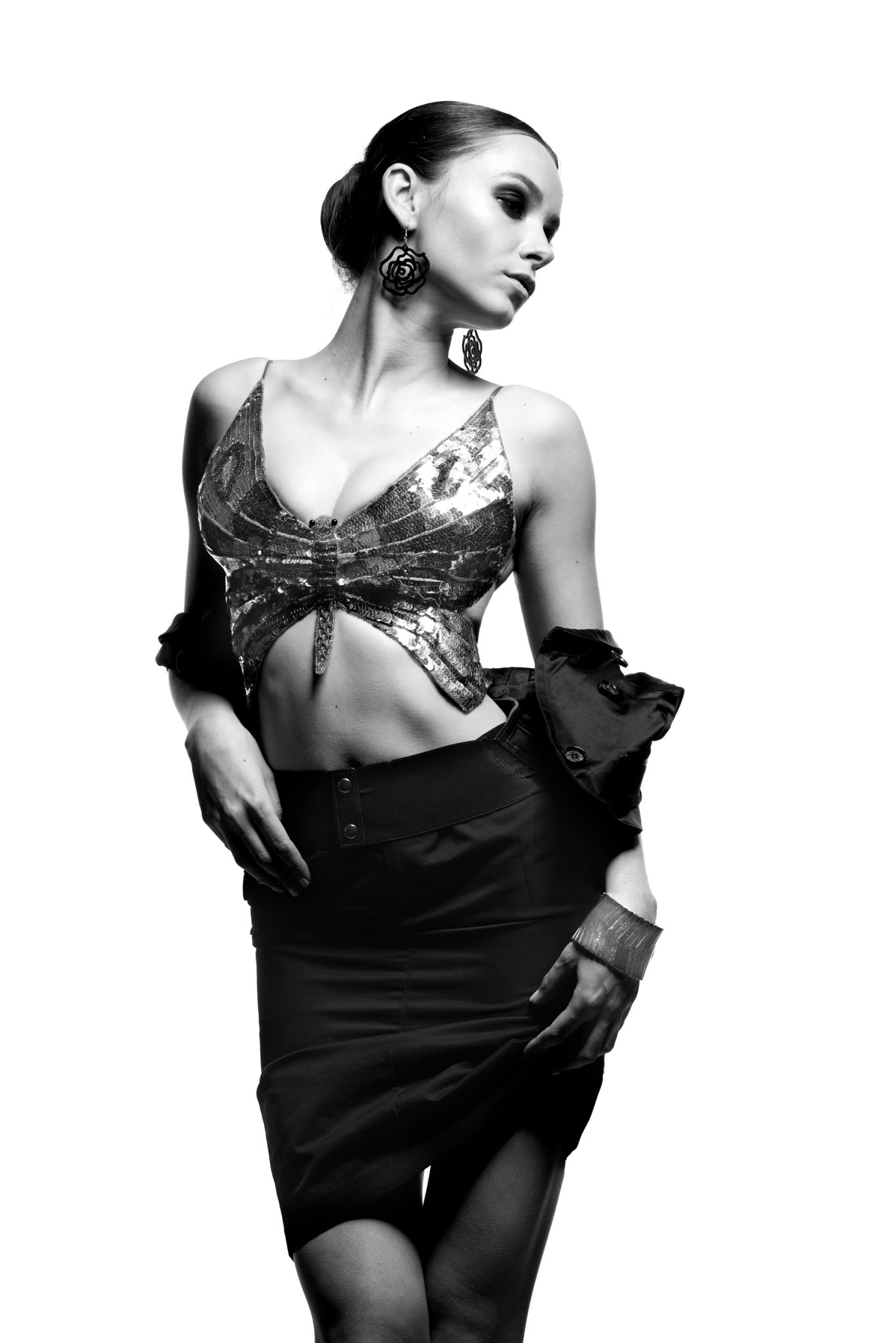 Модельное портфолио, модель Алиса Кириченко