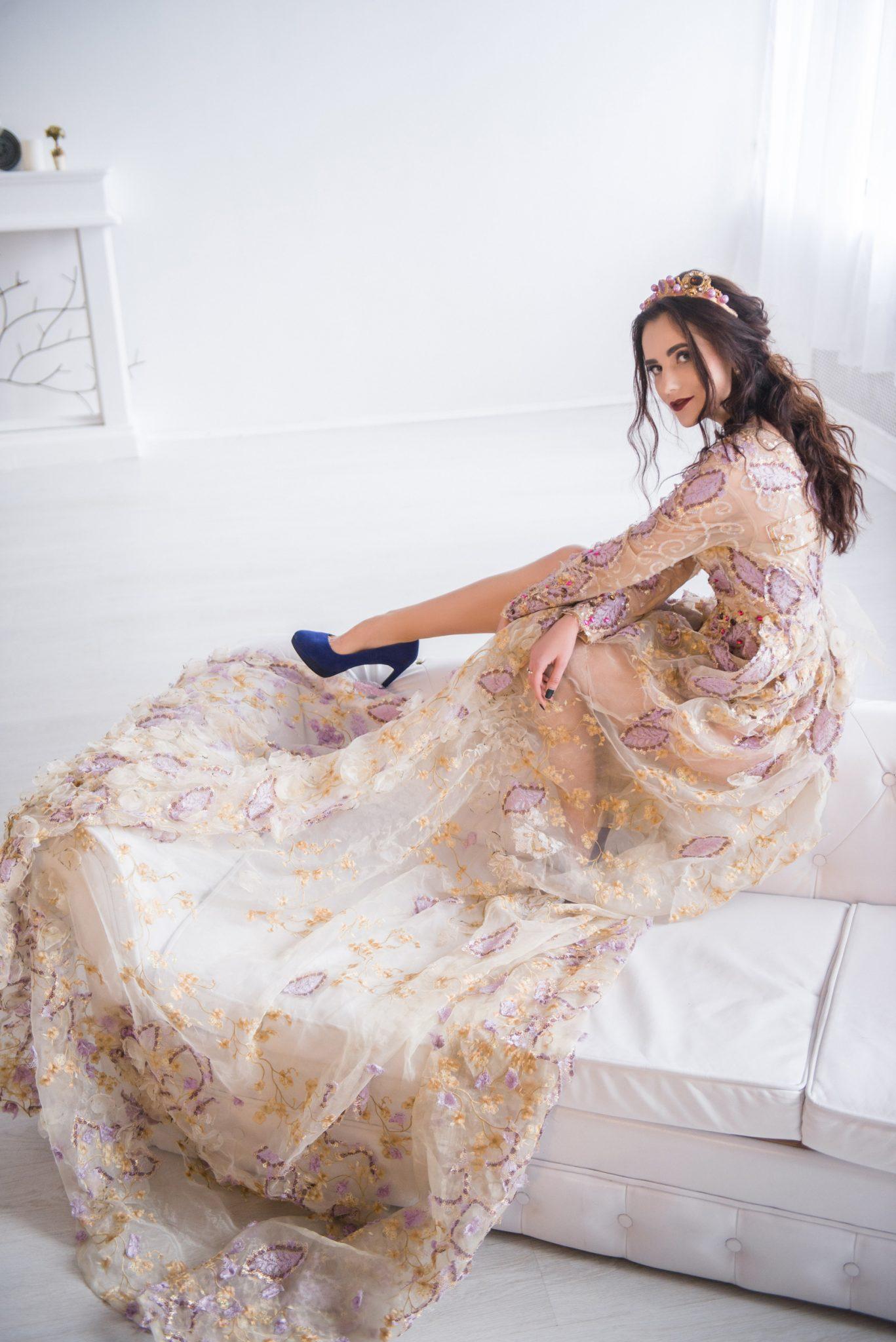 Премиум фотосессия, портфолио. Платье от Садовской