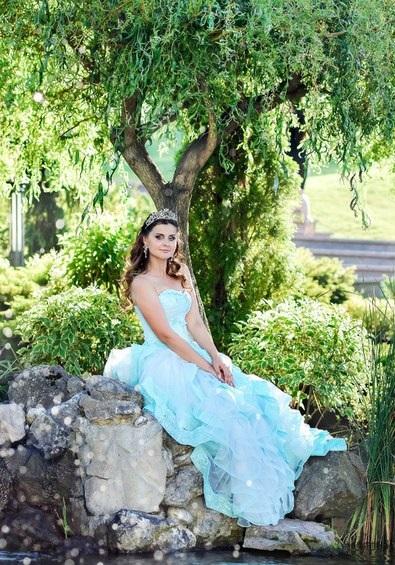 Аренда платьев Diva, платье Blue dress
