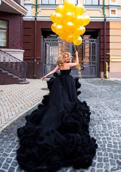 Аренда платьев, платье black dress