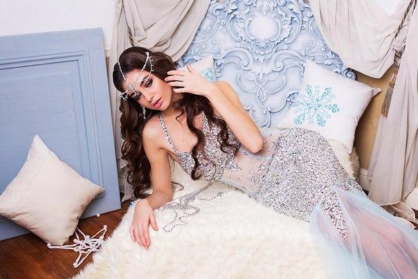Аренда платьев Diva, платье blue dress with diamonds