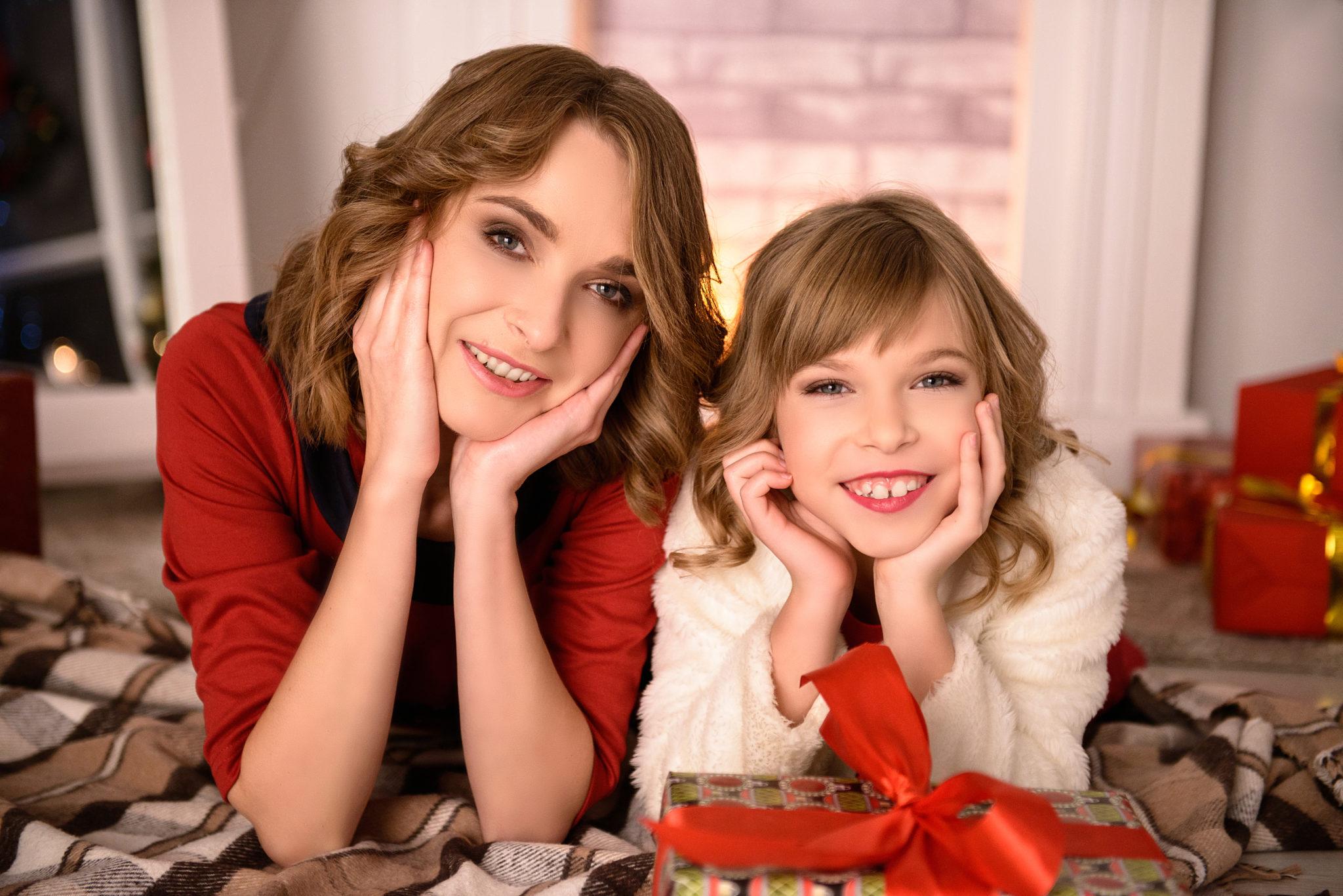 Новогодний семейный фотопроект фотостудии Frontpage