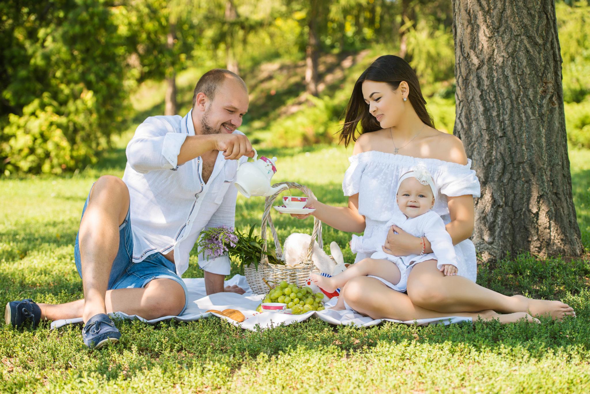 Портфолио выездная семейная фотосессия