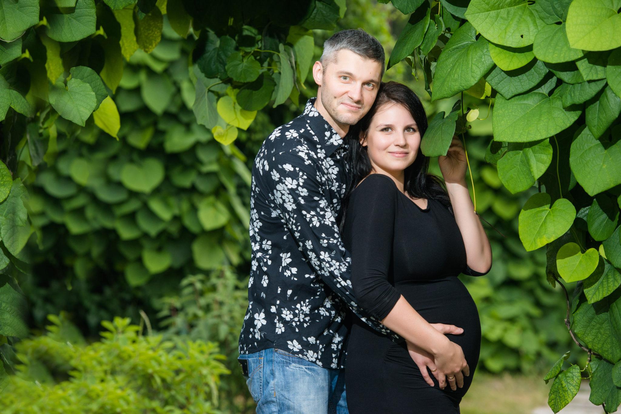Фотосессия беременных на природе, портфолио, Ботанический Сад