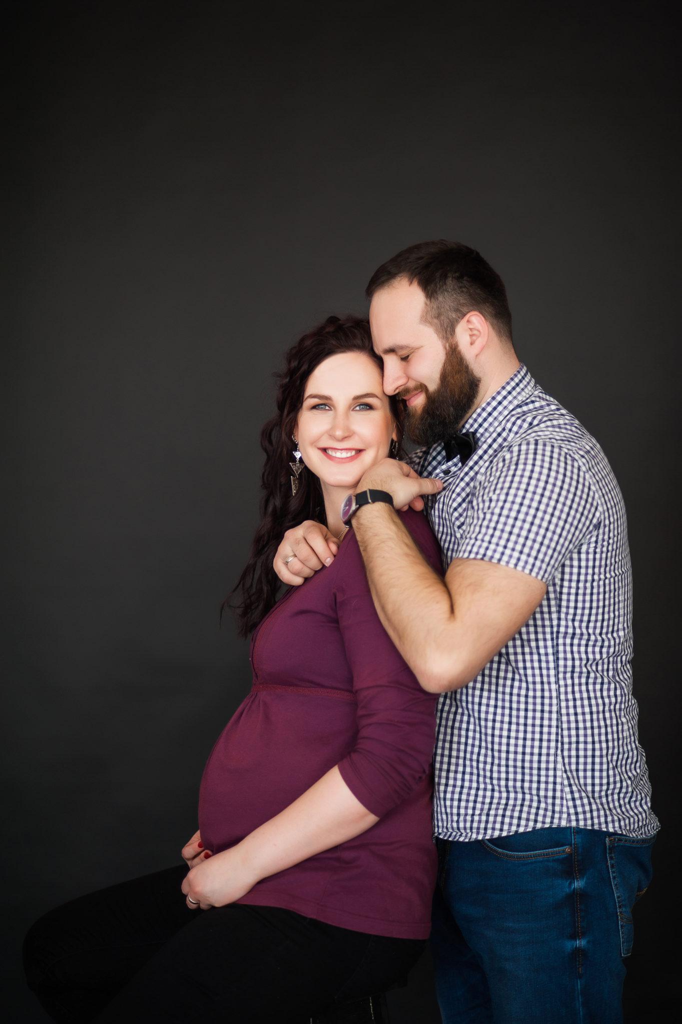 Портфолио фотосессии беременности в студии