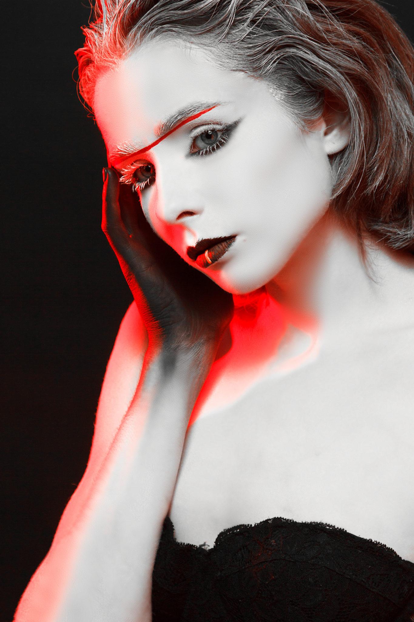 Фотосессия Премиум, боди арт от Яна Штепа, модель Мария Головацкая, фотограф Алиса Постникова