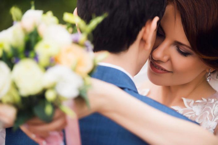 Фотосессия свадьбы, ph Черкасов, 2017 Шостка, потрет невесты
