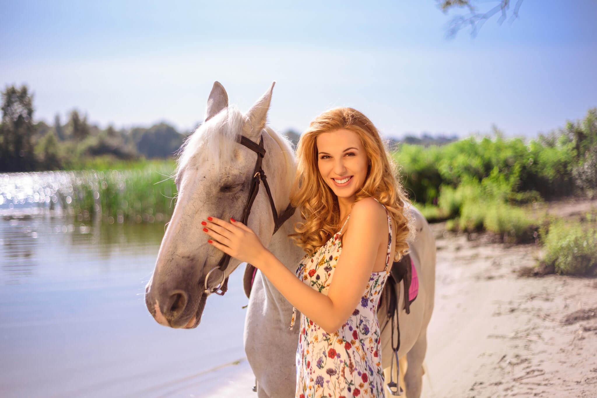 Фотосессия с лошадьми, ph Постникова Алиса, md Полина, локация Парк Дружбы Народов, лошадь Агата
