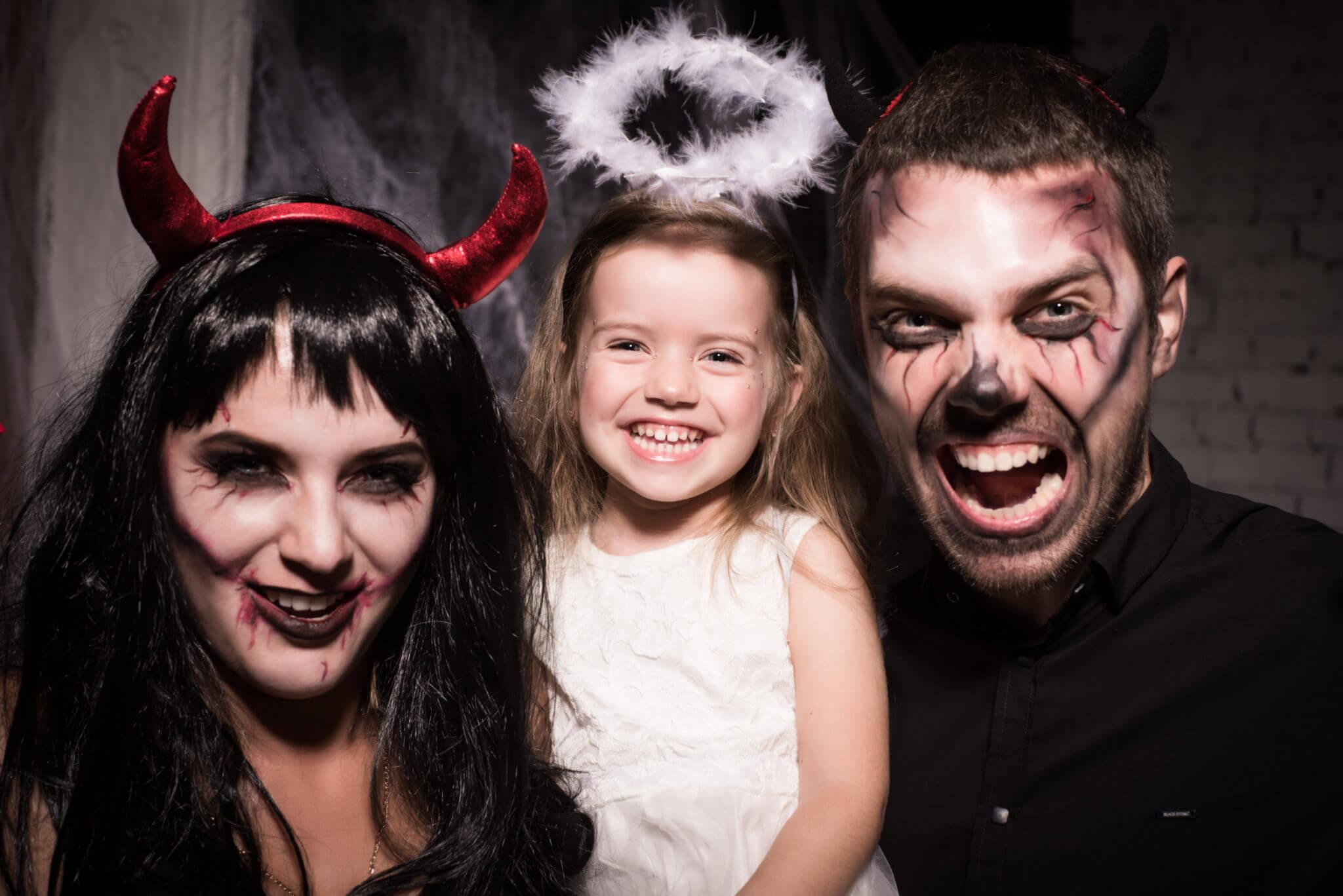 Фотосессия на Хэллоуин, ph Постникова Алиса, семейная фотосессия