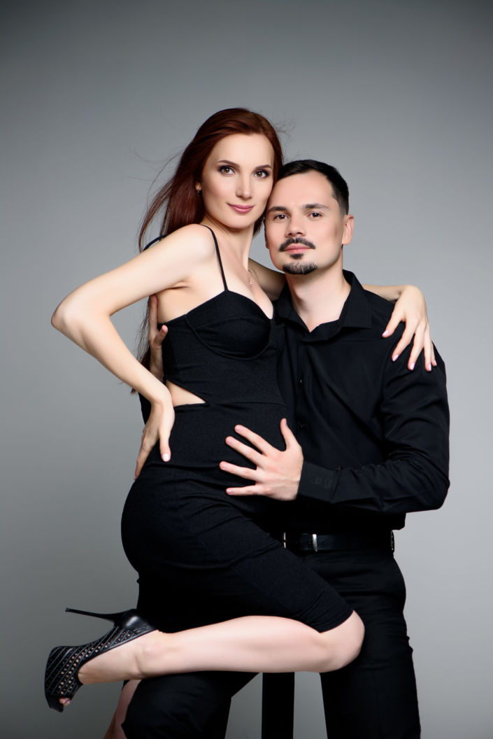 Фотосессия беременных, в студии 92