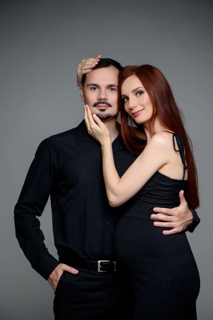 Фотосессия беременных, в студии 91