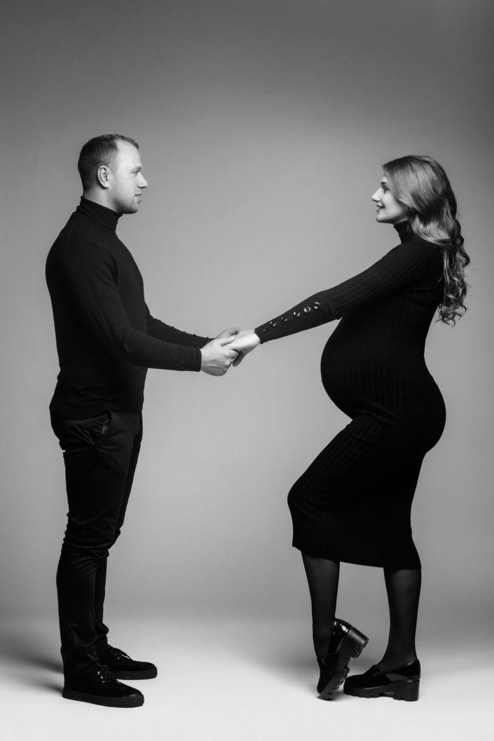 Фотосессия беременных, в студии 78