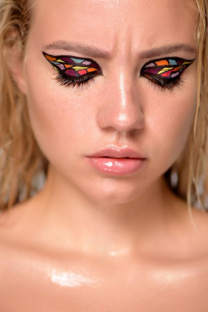 Креативный макияж, визаж киев 04
