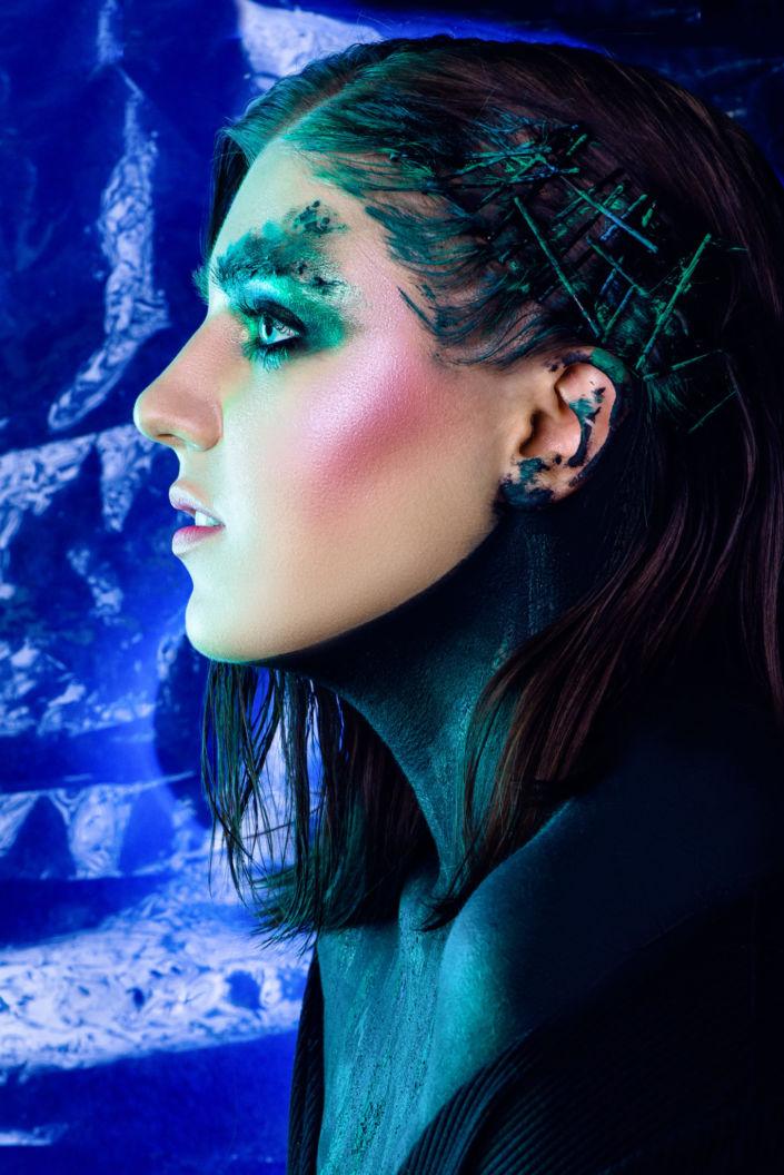 Креативный макияж, визаж киев 08