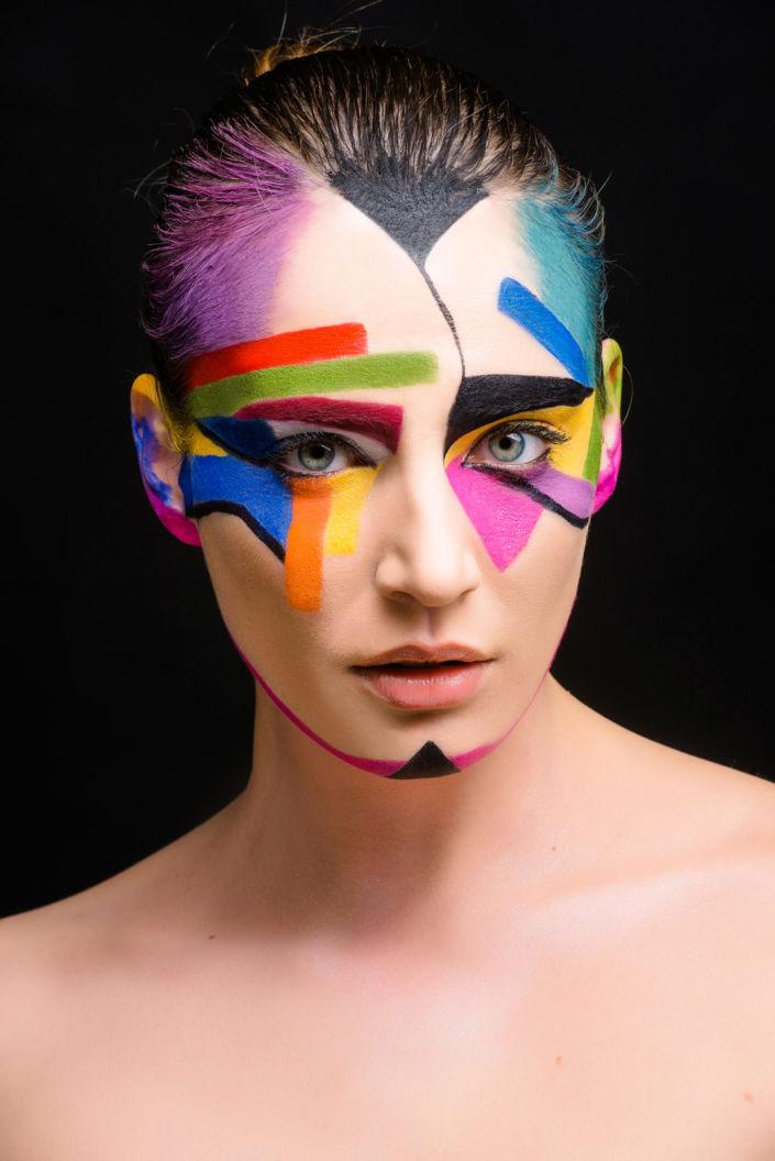 Креативный макияж, визаж киев 11