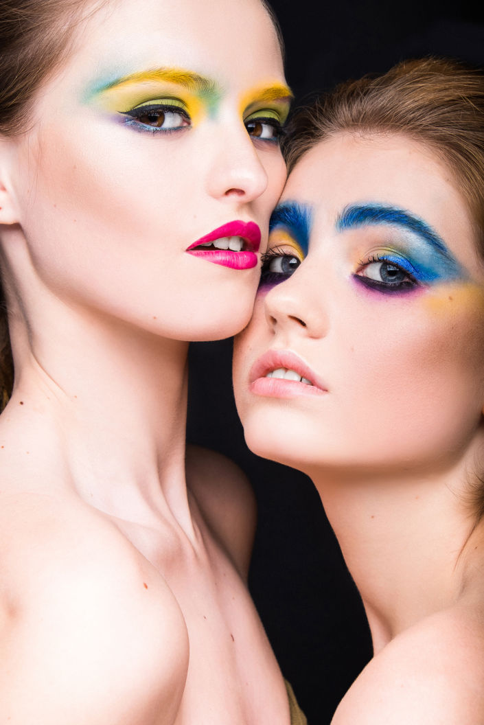 Креативный макияж, визаж киев 15