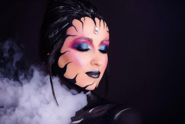 Креативный макияж, визаж киев 13