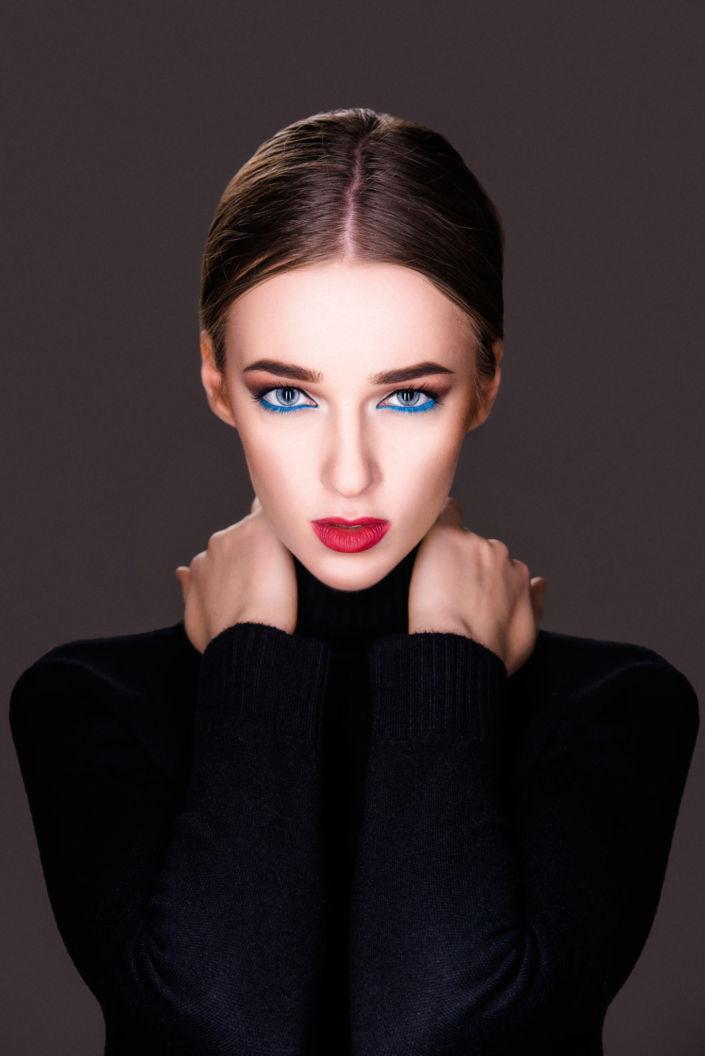 Вечерний макияж, визаж киев 02