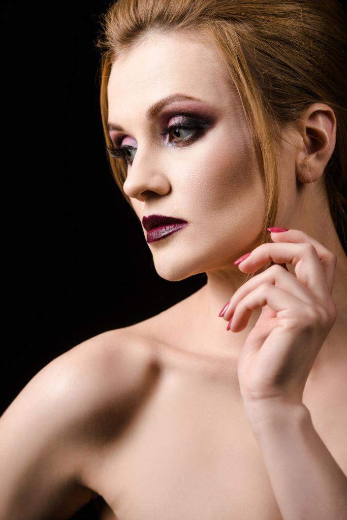 Вечерний макияж, визаж киев 05