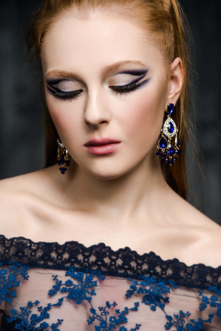 Вечерний макияж, визаж киев 07