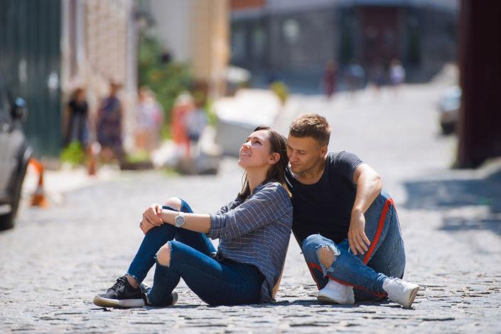 Love story фотосессия, на природе, фото пары на природе 7