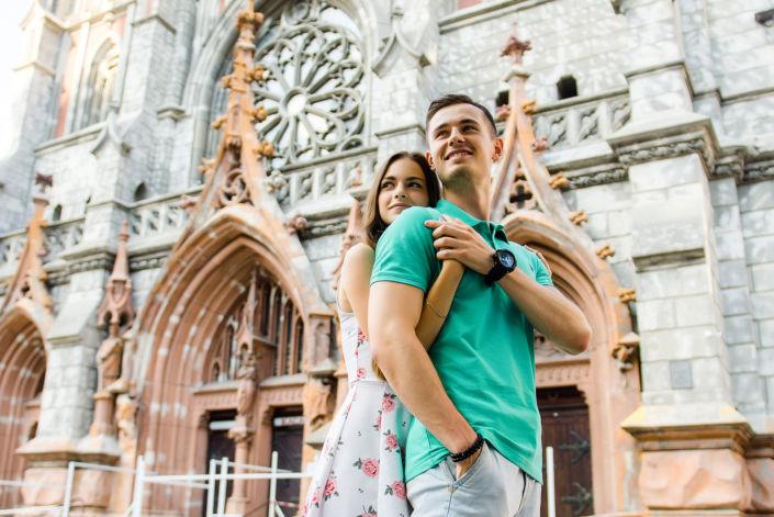 Love story фотосессия, на природе, фото пары на природе 16