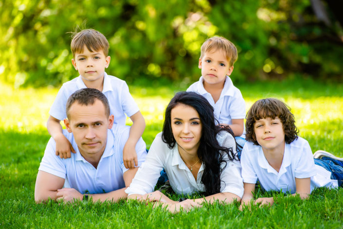 Семейная фотосессия на природе 10