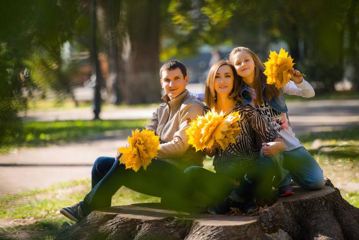 Семейная фотосессия на природе 12