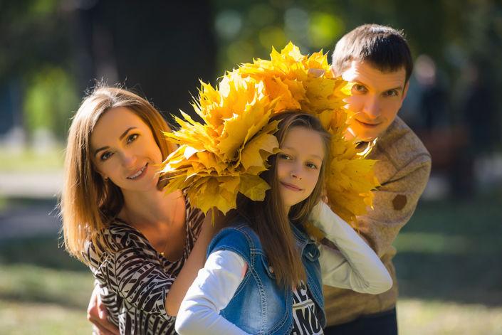 Семейная фотосессия на природе 13