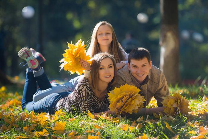 Семейная фотосессия на природе 14