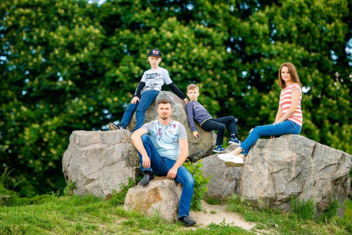 Семейная фотосессия на природе 15