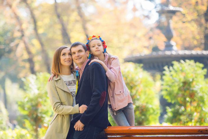 Семейная фотосессия на природе 16