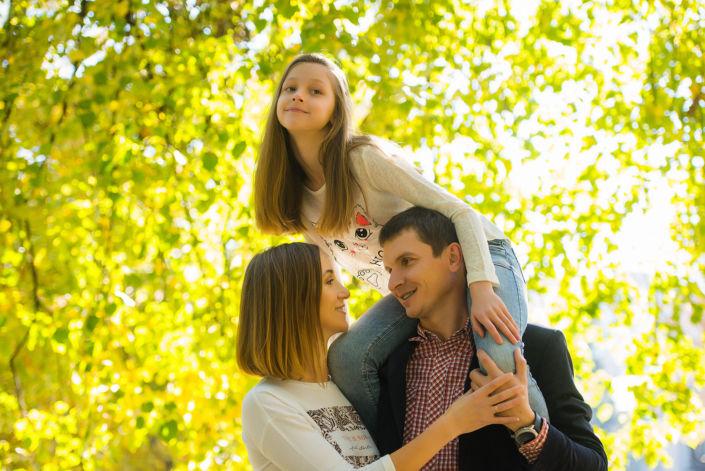 Семейная фотосессия на природе 17
