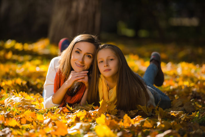 Семейная фотосессия на природе 18