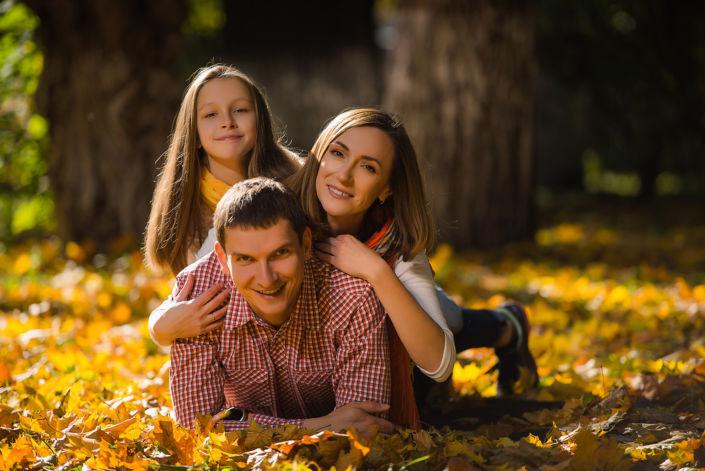 Семейная фотосессия на природе 19