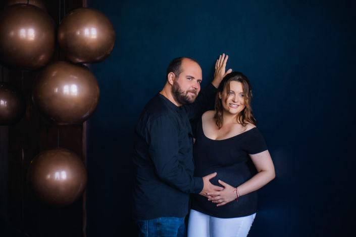 Фотосессия беременных, в студии 57