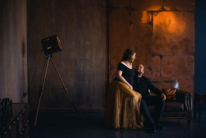 Фотосессия беременных, в студии 58