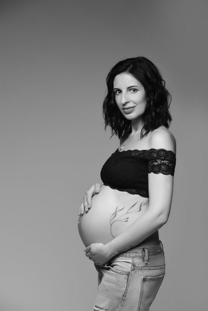 Фотосессия беременных, в студии 11
