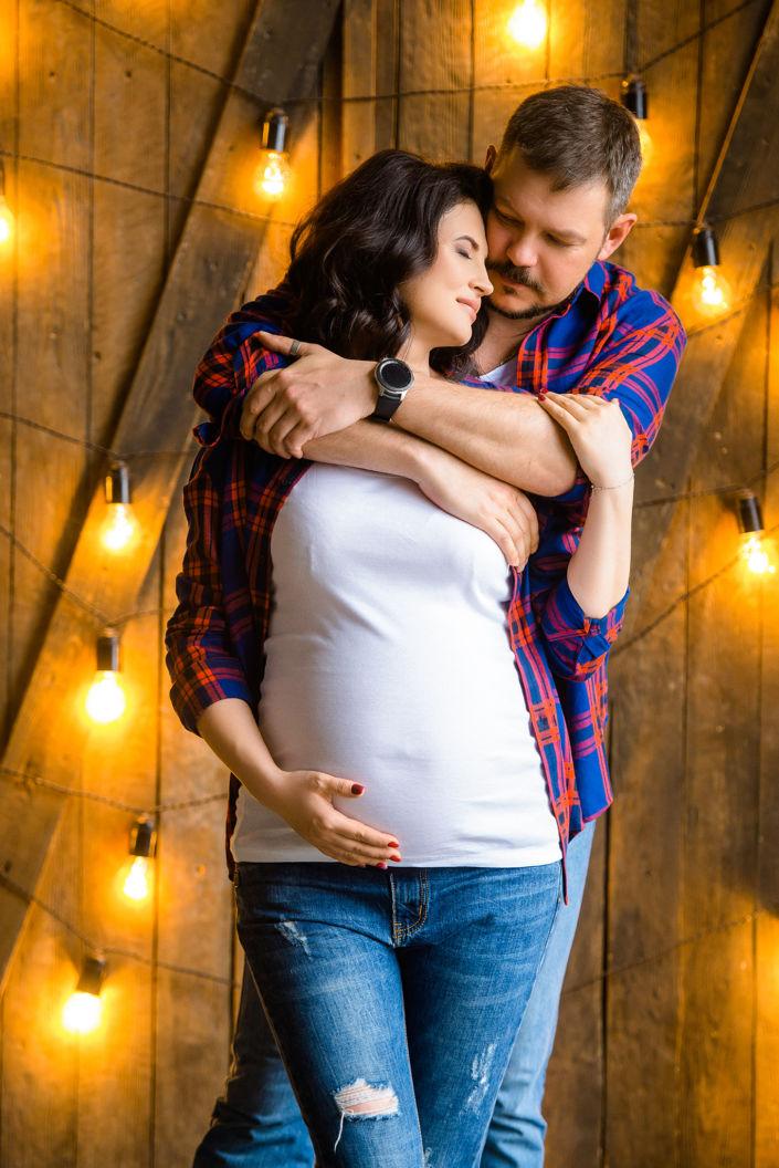 Фотосессия беременных, в студии 32