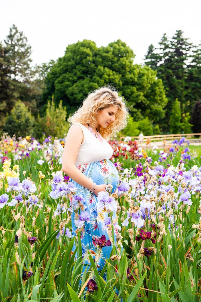 Фотосессия беременных, на природе, 7