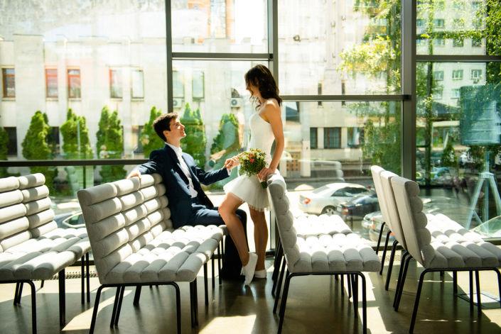 Фотосессия свадьбы, 2019, Киев, фото пары в Готово