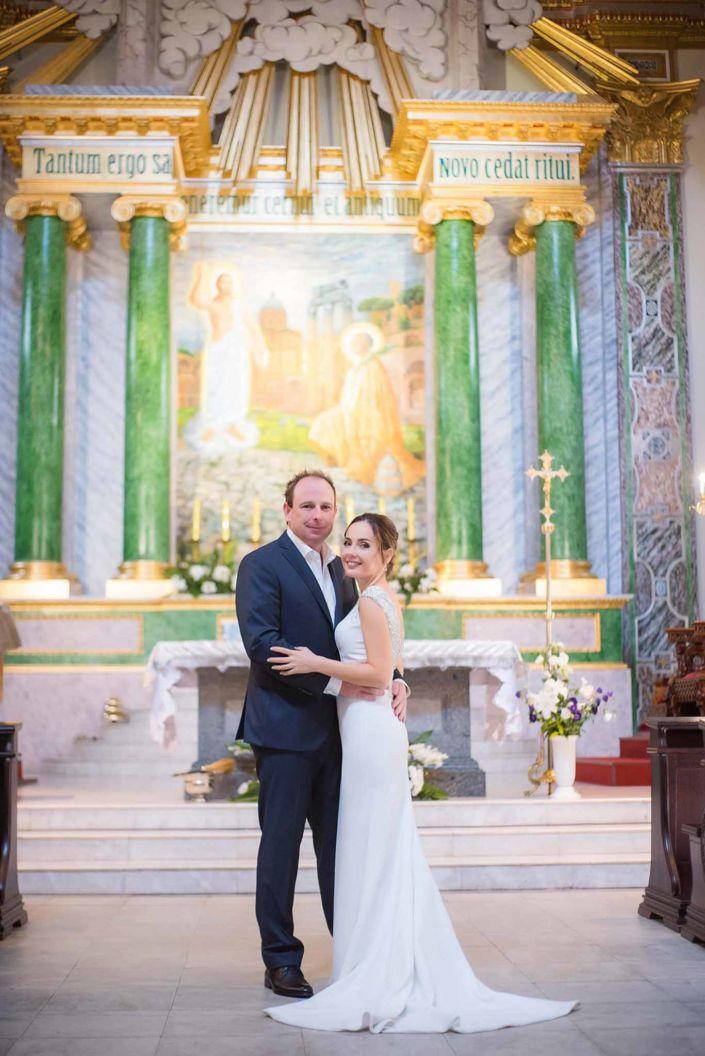 Фотосессия свадьбы, ph Постникова, 2018, Киев, фото пары у алтаря