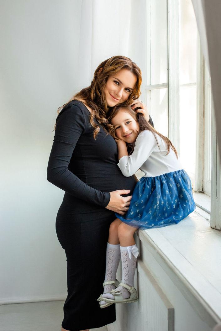 Фотосессия беременных, в студии 77