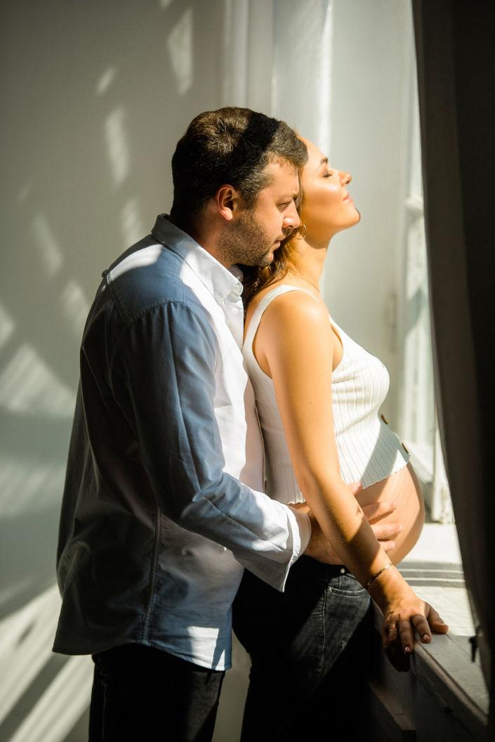 Фотосессия беременных, в студии 79
